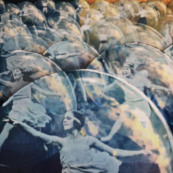 Collage Analogique France Mermet Lyon Artiste lyonnaise déconfinement covidart