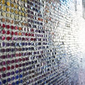 Tableau Oslo Pointillisme Collage Art France Mermet