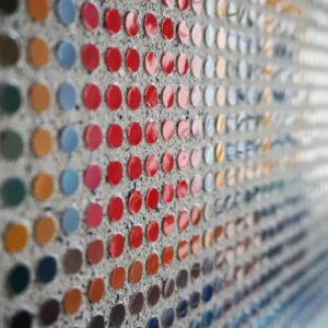 Tableau Amsterdam Pointillisme Collage Art France Mermet